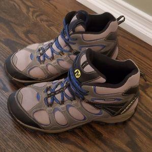 Merrell Boys Hilltop Ventilator Mid Hiking Boot